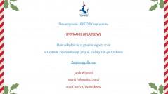 UNICORN_zaproszenie na spotkanie opłatkowe